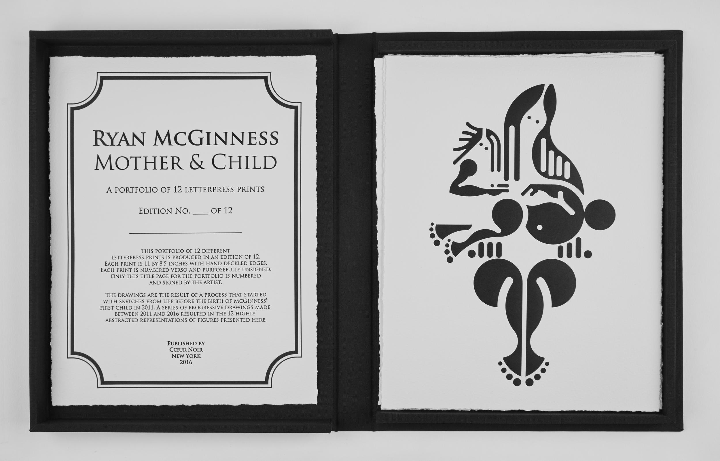 RYAN McGINNESS - Mother & Child