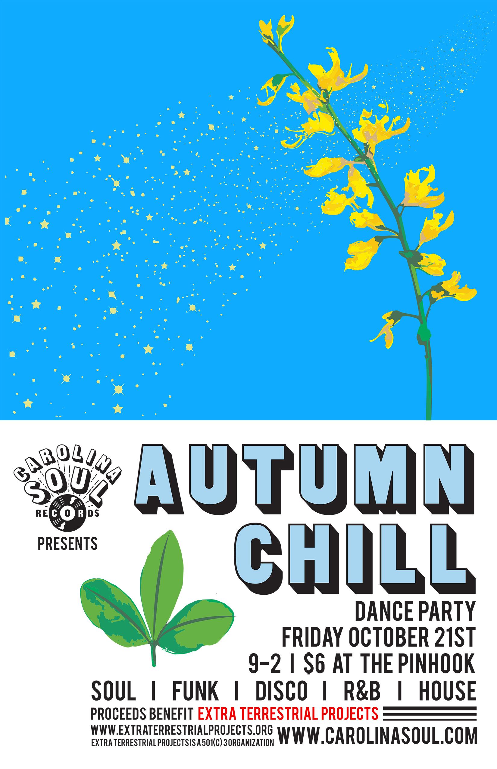 Carolina Soul Autumn Chill 11x17 Poster.jpg