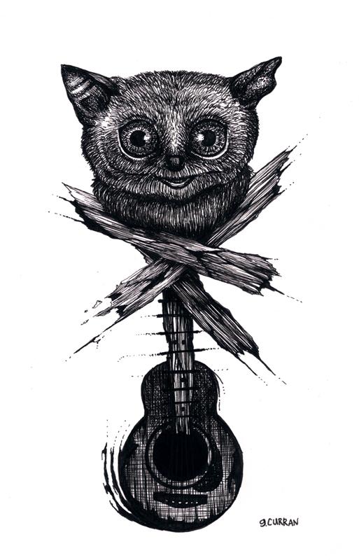 Guitarsier