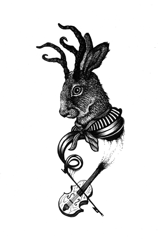 Jackalope Fiddle