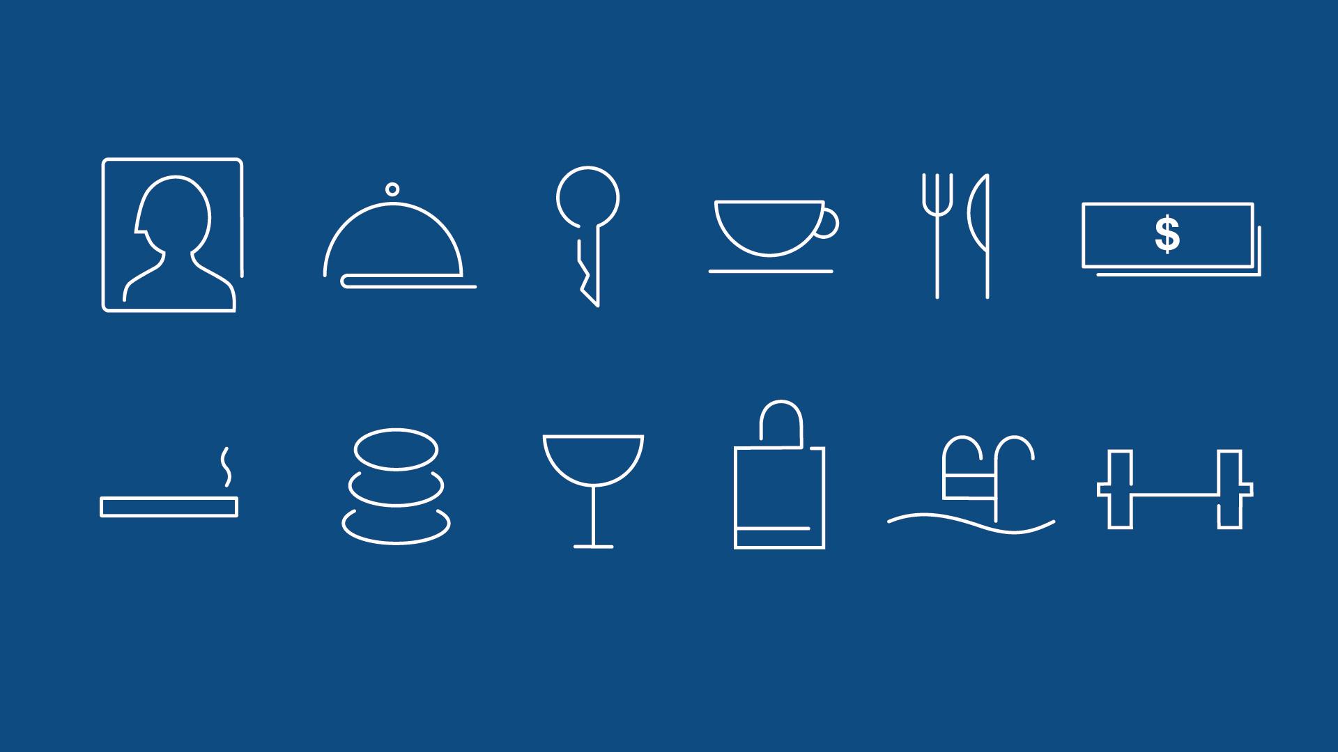 Icon designs.
