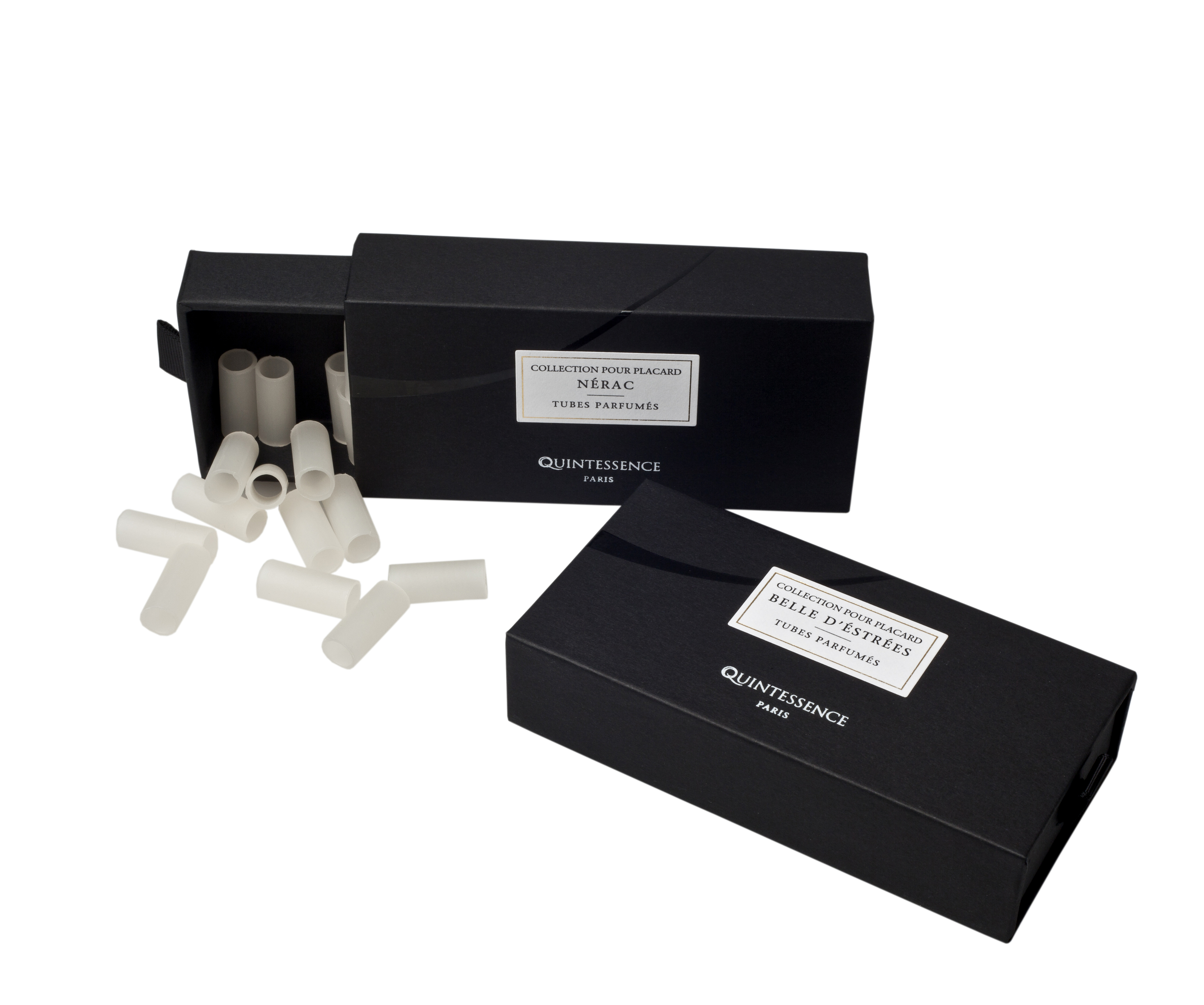 Quintessence-Paris Hanger Tubes. Available in 2 discreet scents. $125
