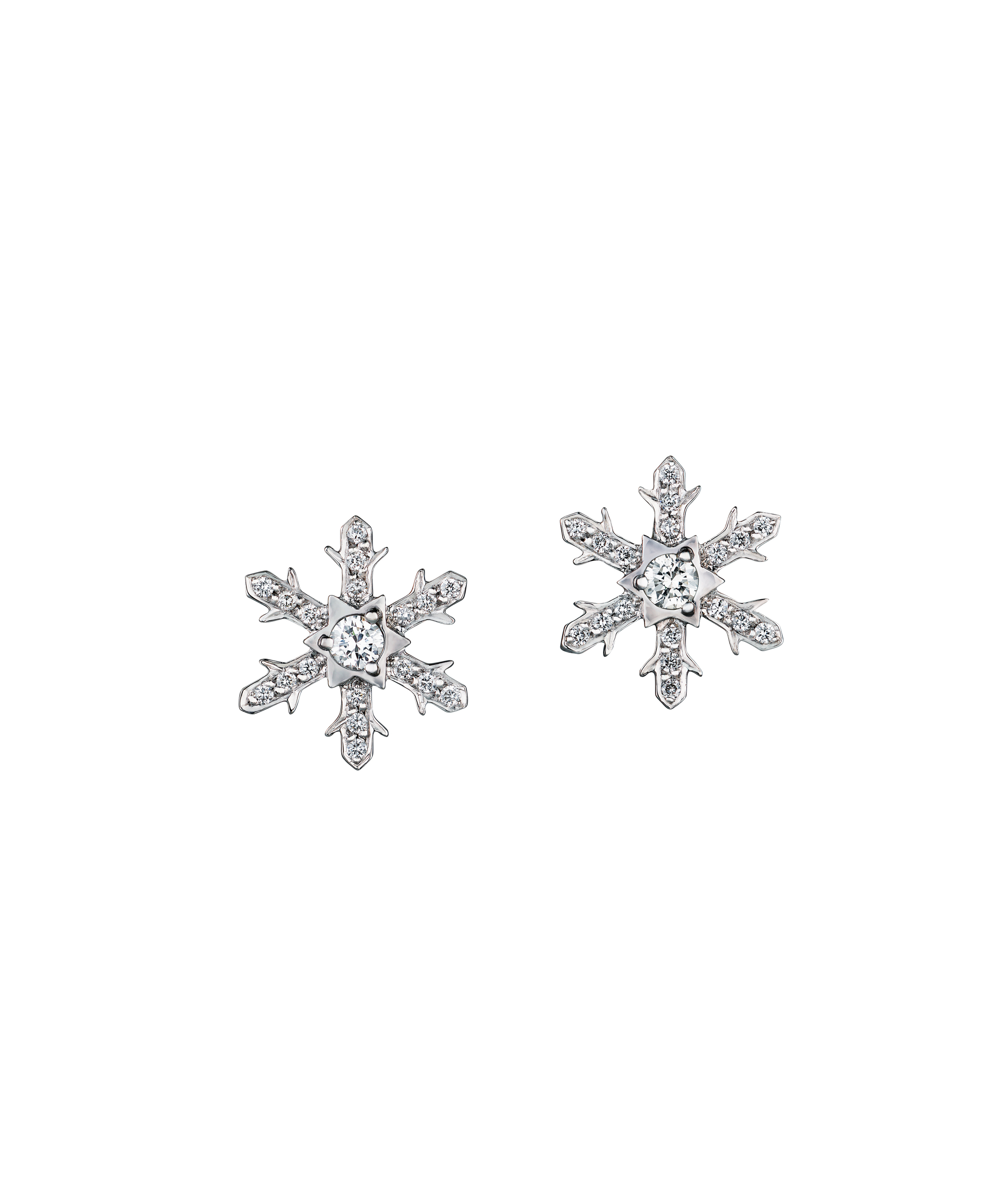 Faberge 'Anna' diamond earrings. $3,380