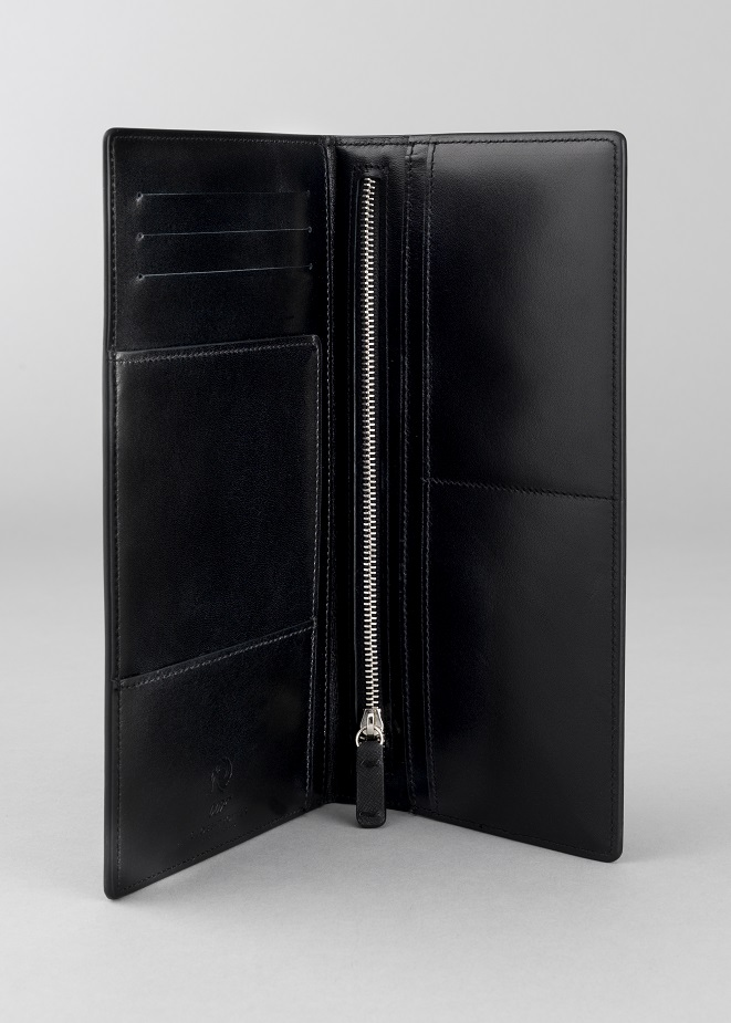 Globe-Trotter Limited Edition 'James Bond 007' Collection Travel Wallet. $395