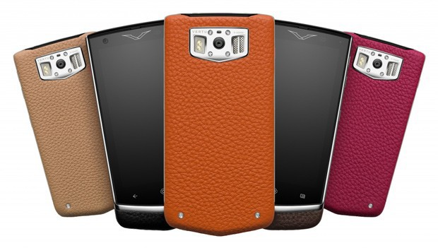Vertu 'Constellation' collection phones. Powered by Android and available in 5 colours. $7,950