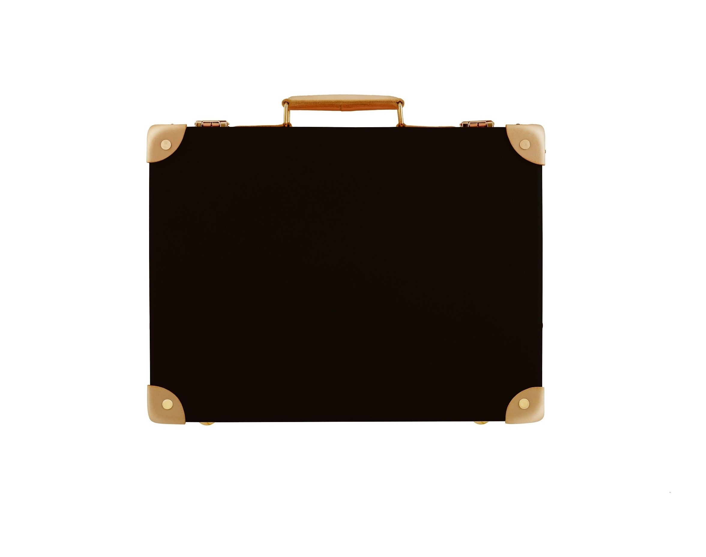 Globe-Trotter Special Edition 'Safari' Collection attache case in Colonial Brown with Natural leather trim. From $880