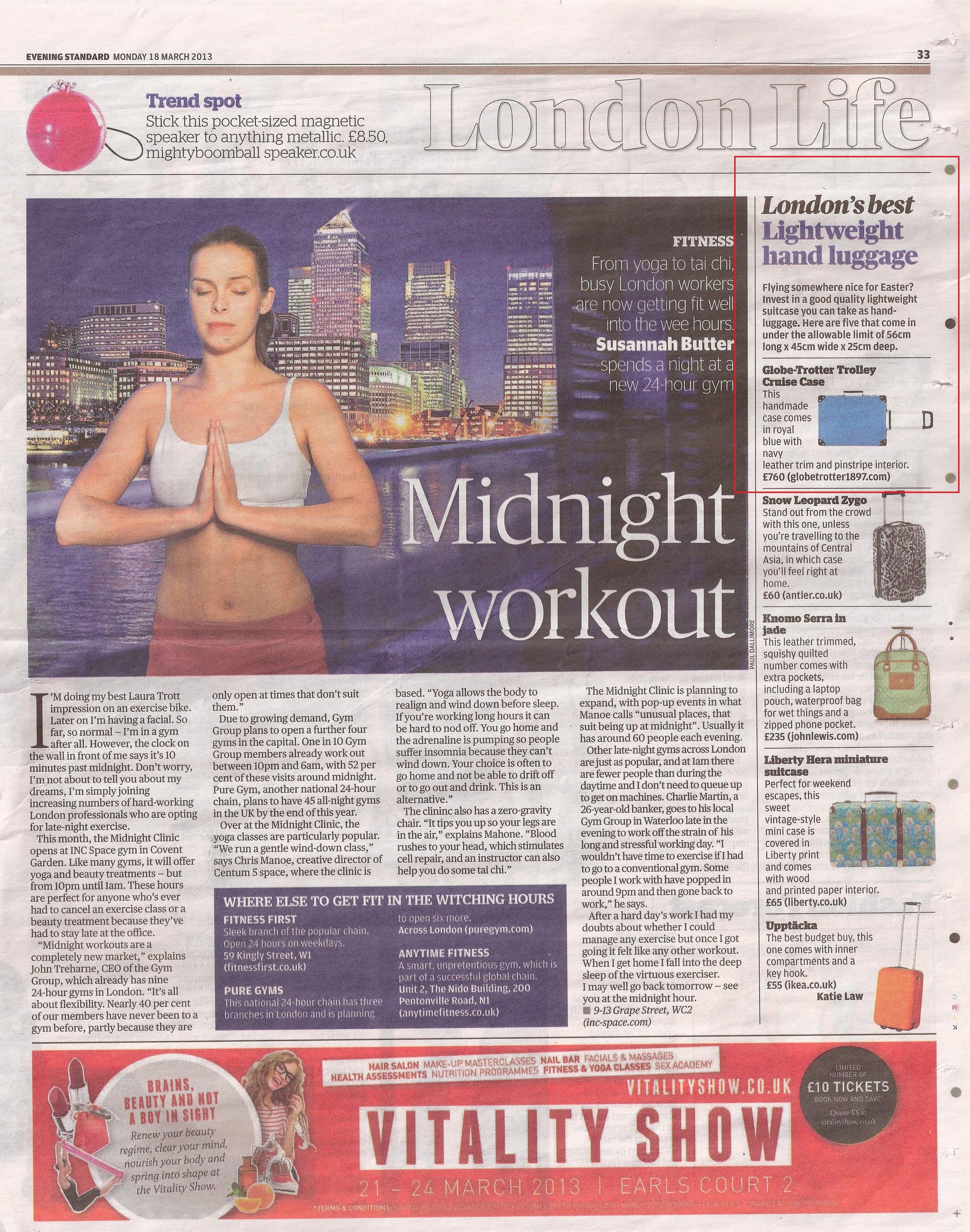 Evening Standard - 18th March 2013.jpg