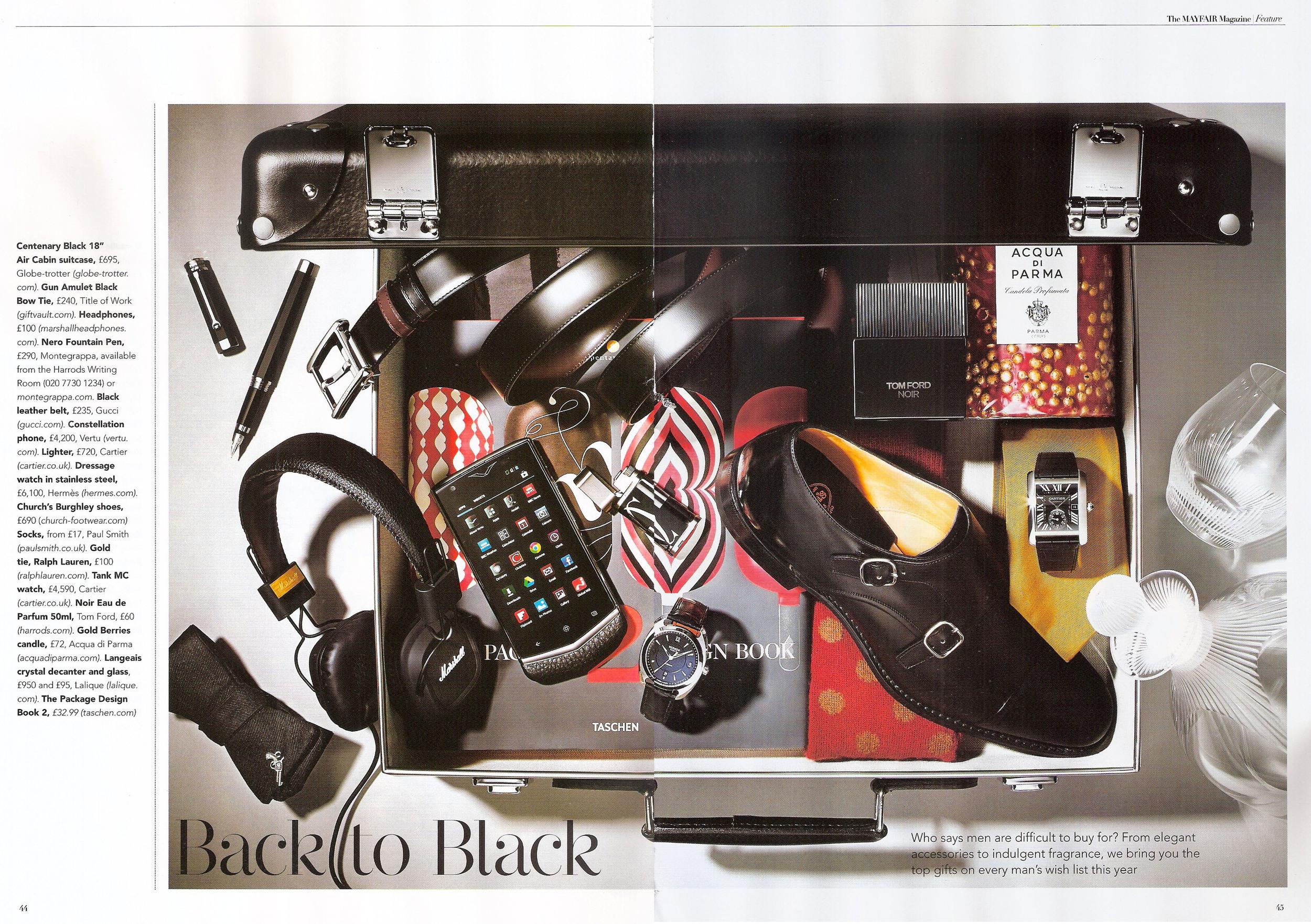 The Mayfair Magazine (UK) December 2013