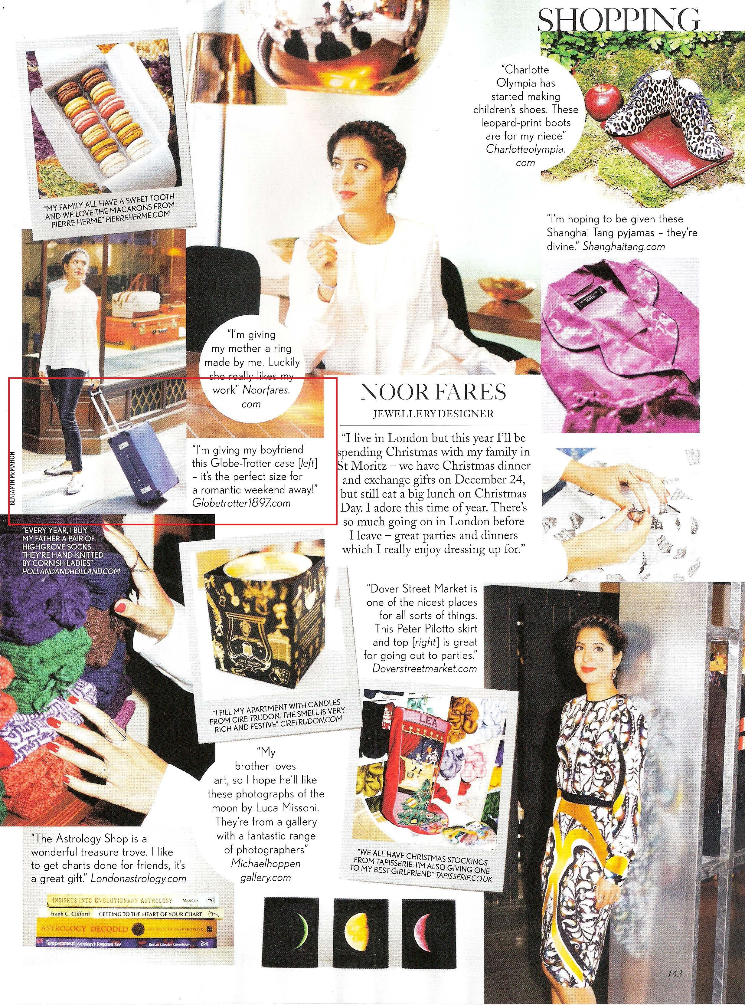 Vogue (UK) December 2013