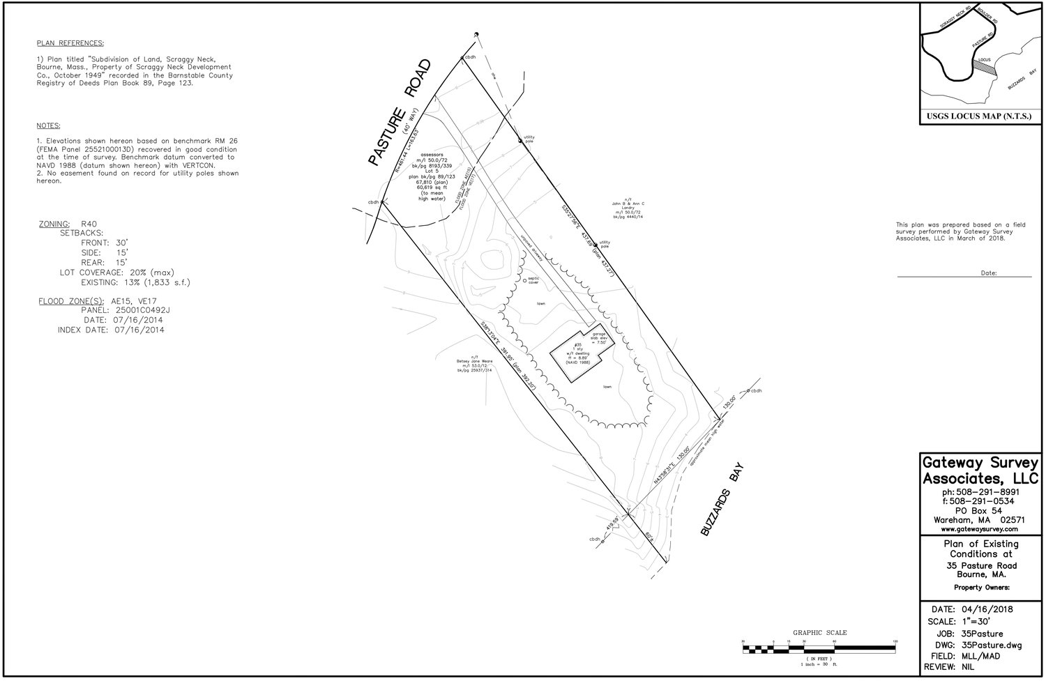 Hedendaags 35 Pasture Rd. — Russ Driscoll Real Estate CI-41