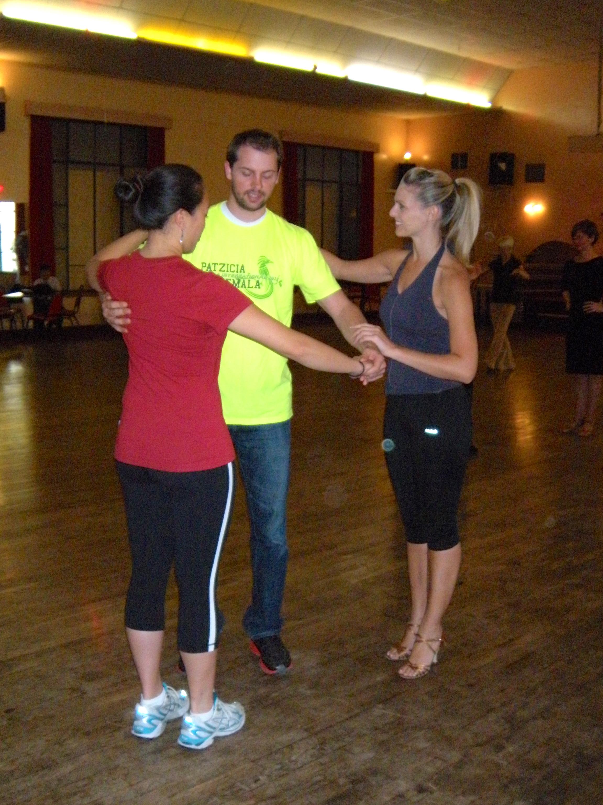 Murisa teaching proper frame for Swing!