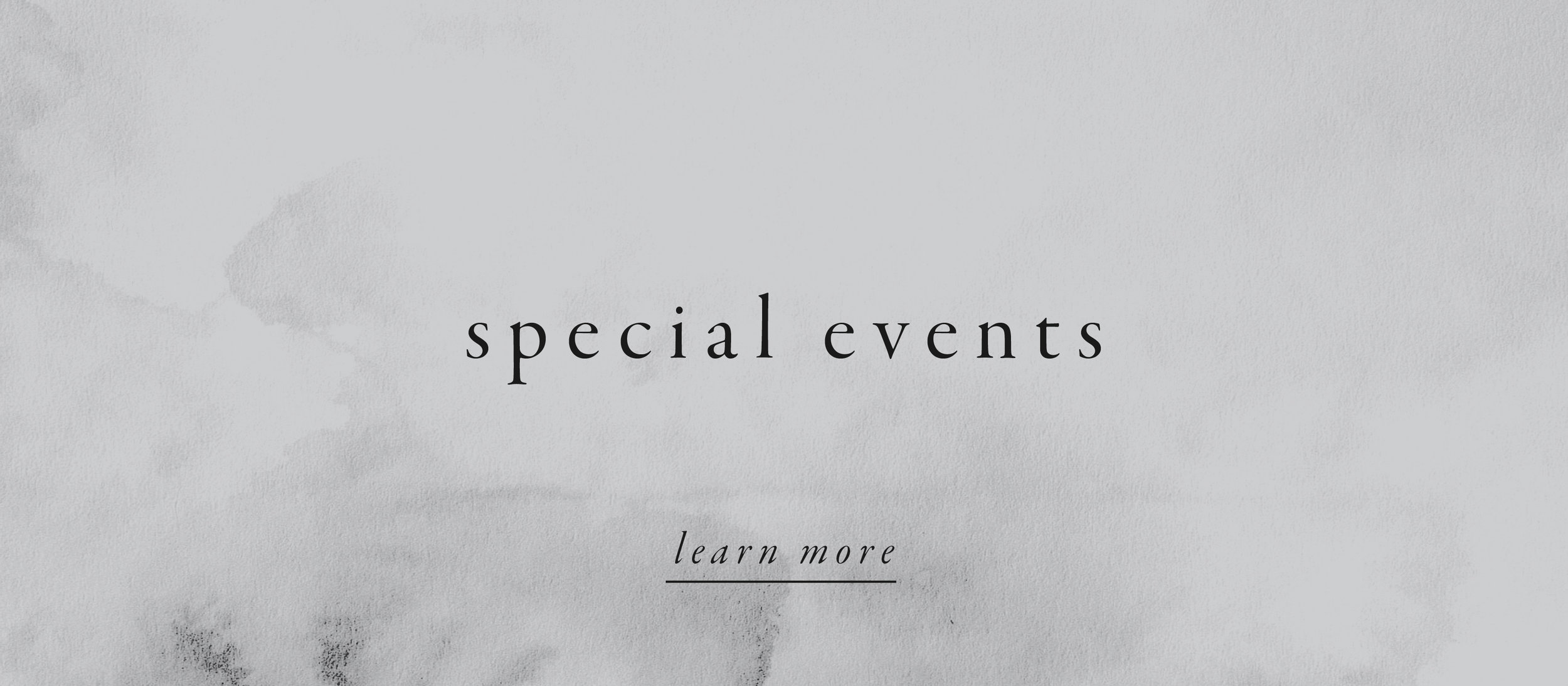 special events.