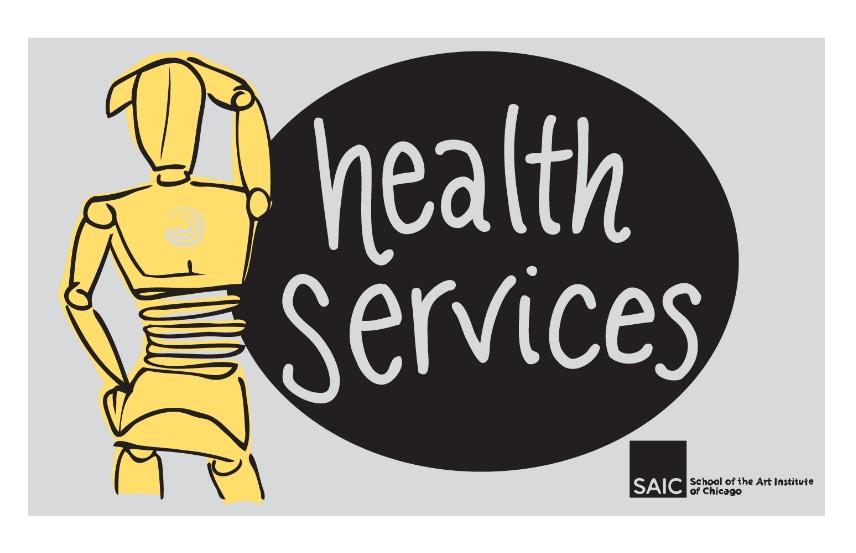 Logo Design, Wellness Center, School of the Art Institute of Chicago