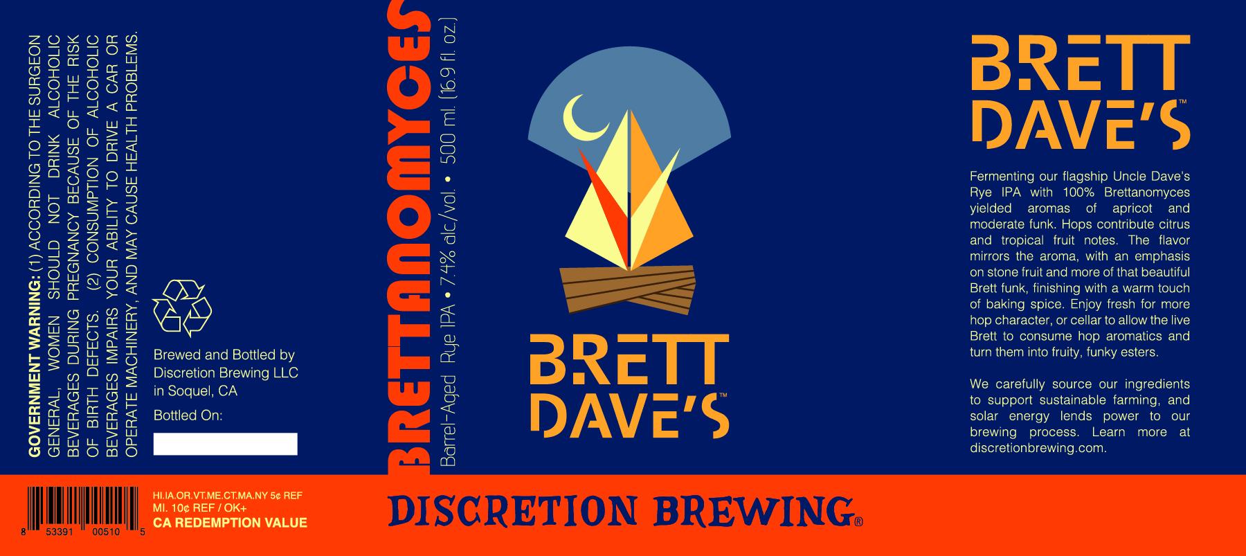 Brett Dave's, Brettanomyces Series