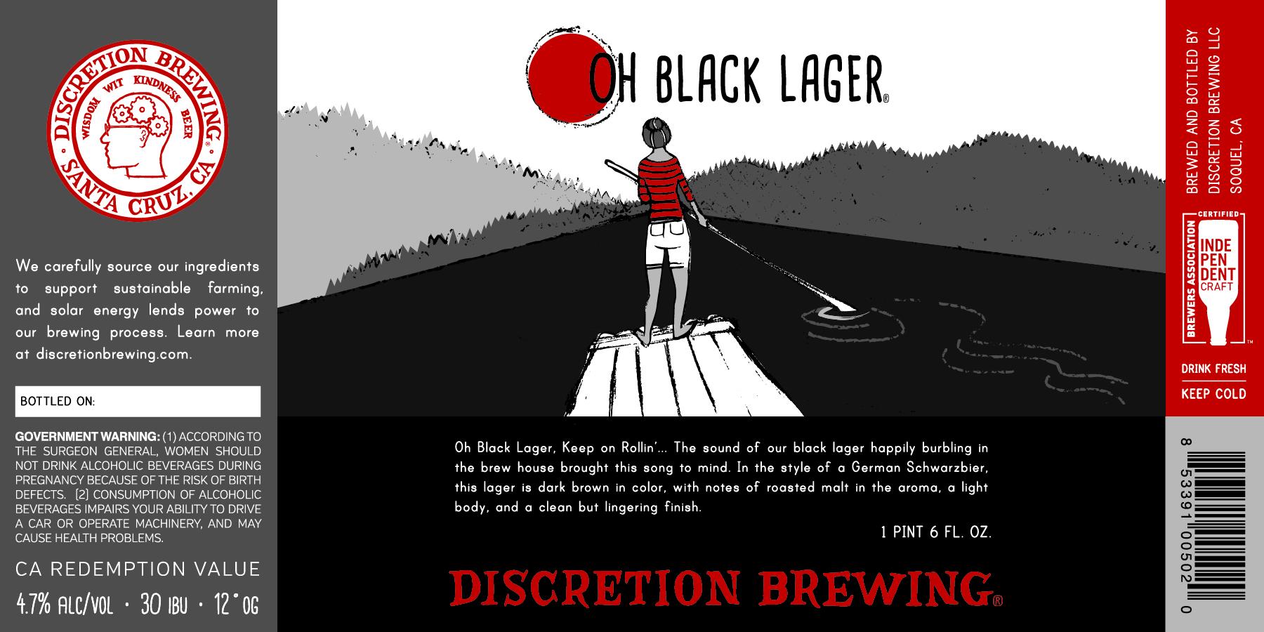 oh black lager