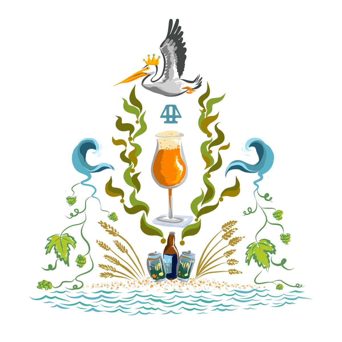 4th Anniversary Emblem