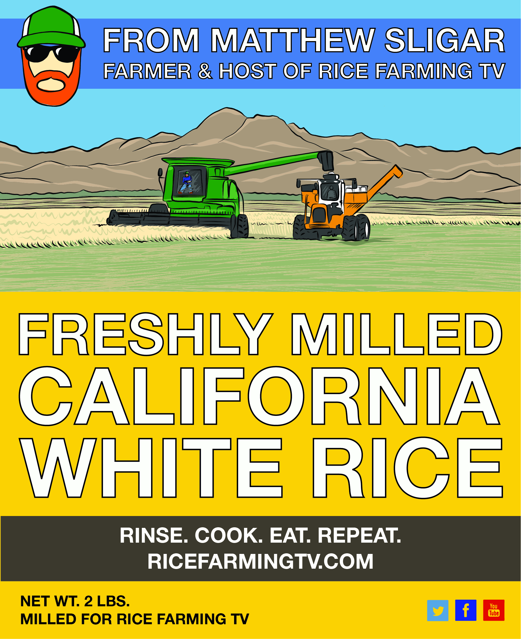 California White Rice