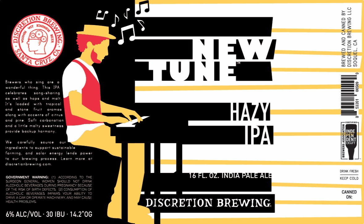 New Tune Hazy IPA