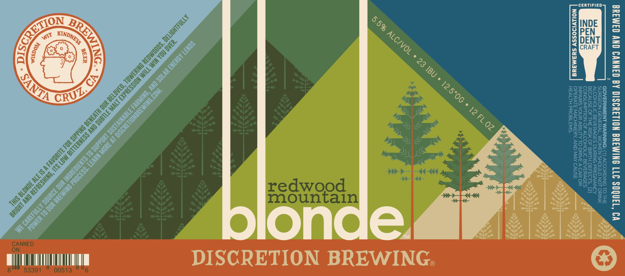 Redwood Mountain Blonde