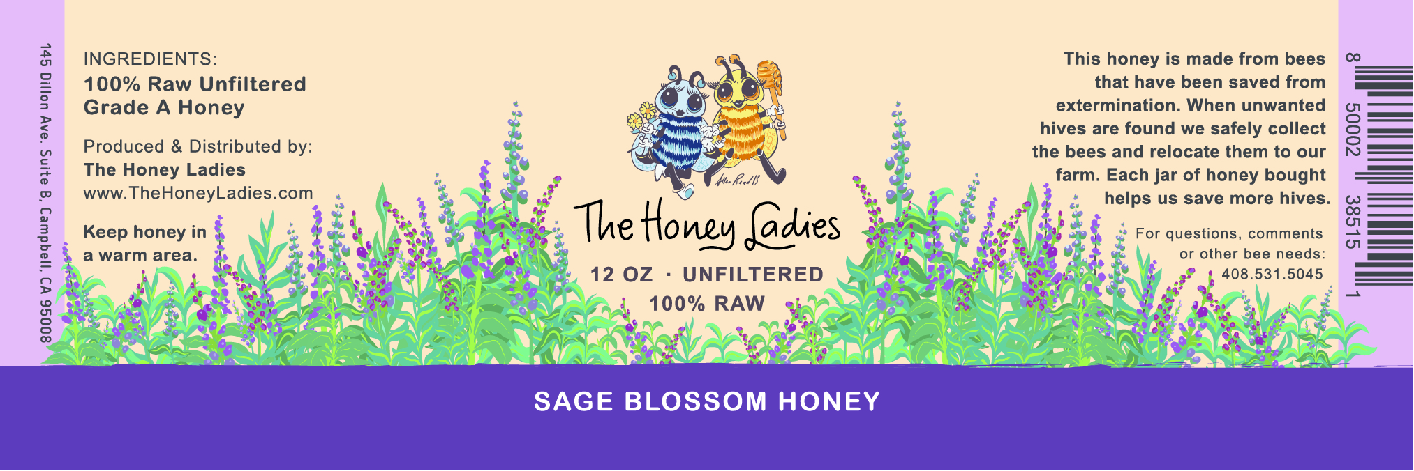 Sage Blossom Honey