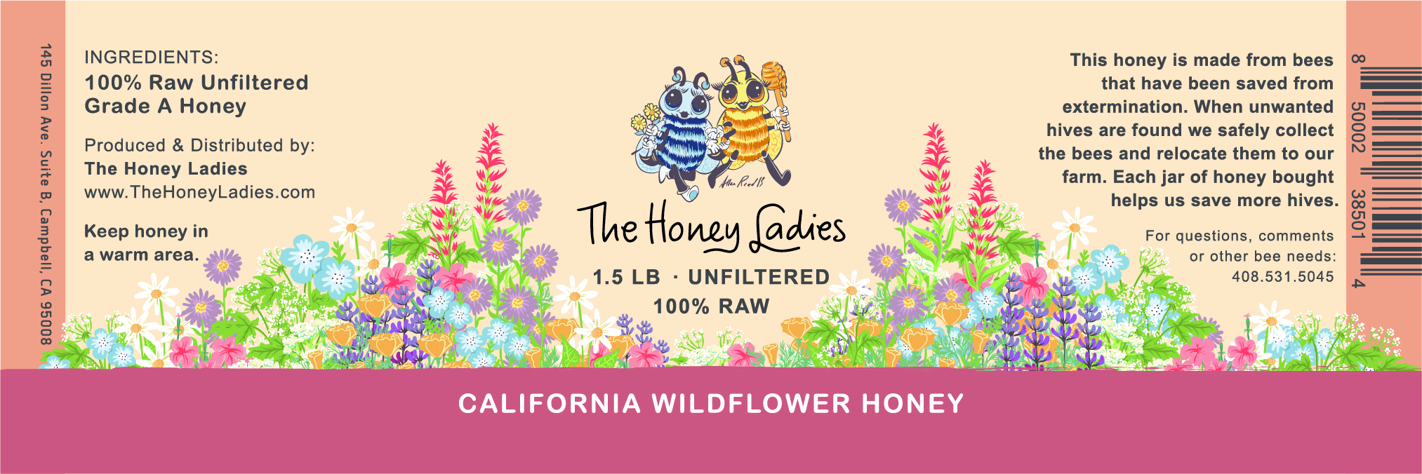 California Wildflower Honey