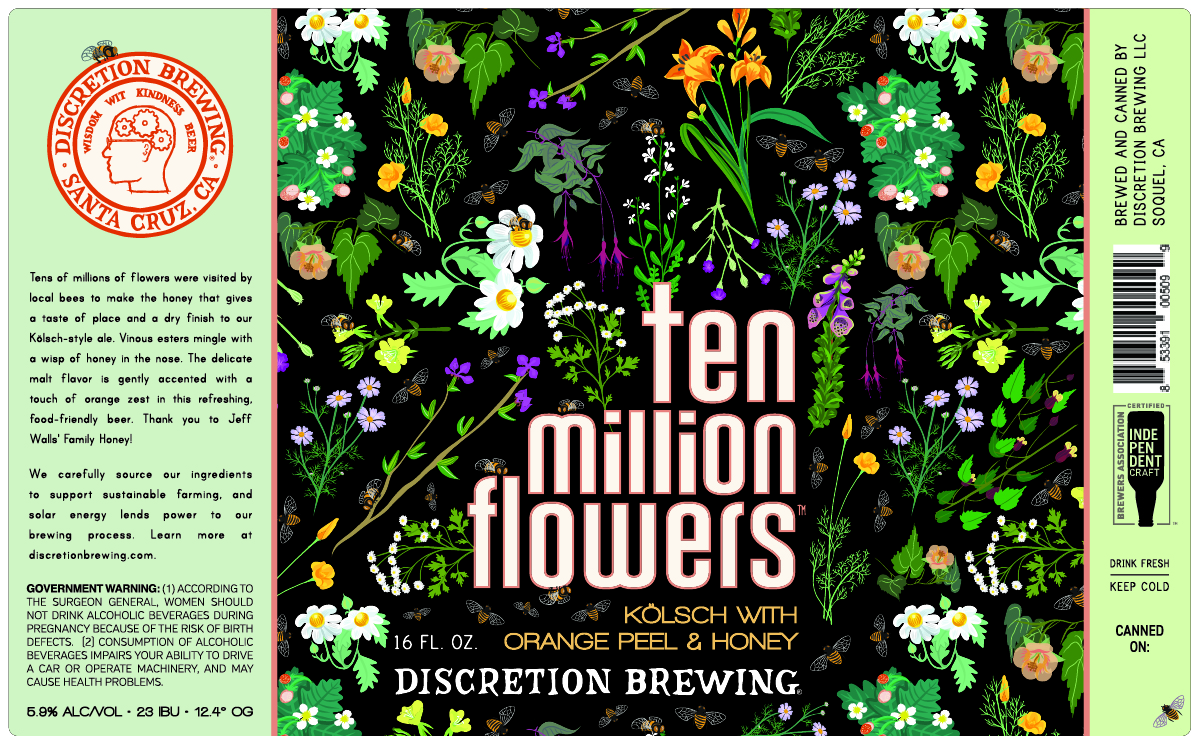 Ten Million Flowers Honey Kolsch