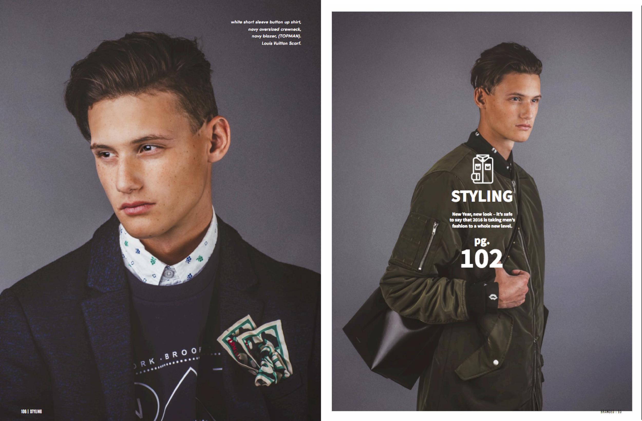 BRANDED MAGAZINE: THE AFFIRMATION  fashion editorial