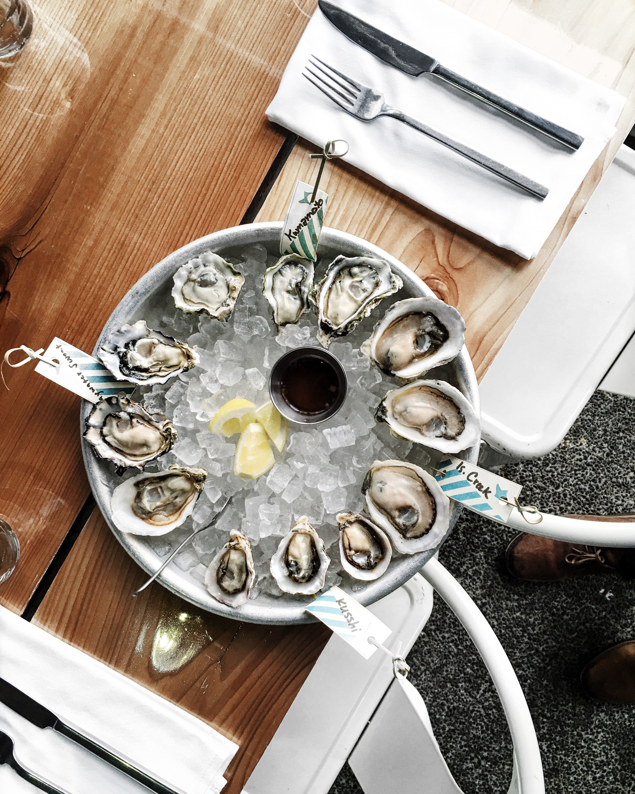 Westward Oysters Seattle By Lisa Linh Lisa Linh