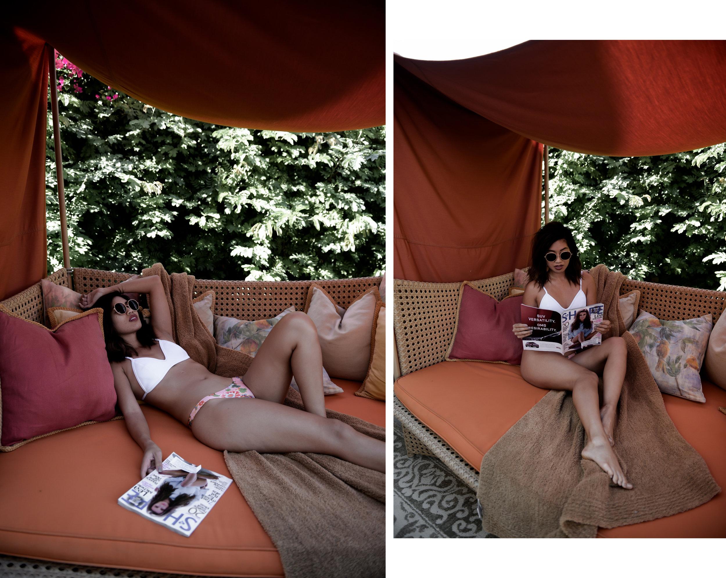 Marriott Desert Springs TRIANGL Bikini by Lisa Linh