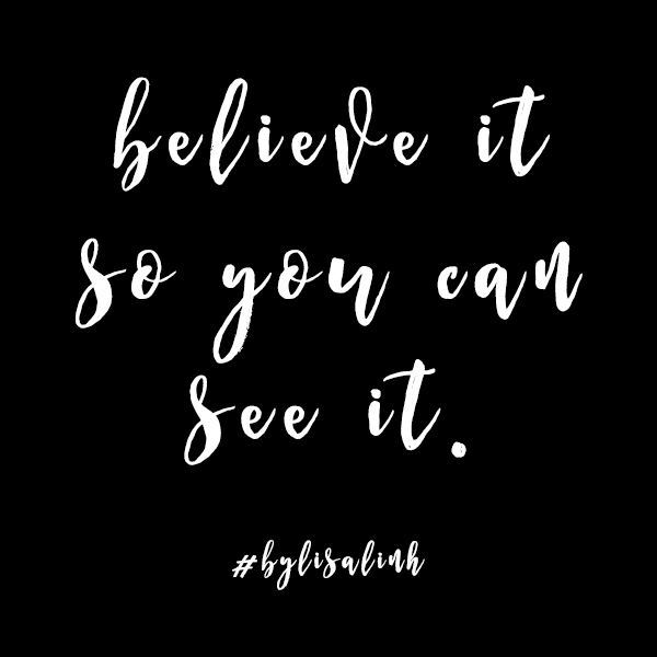 Believe in Yourself by Lisa Linh