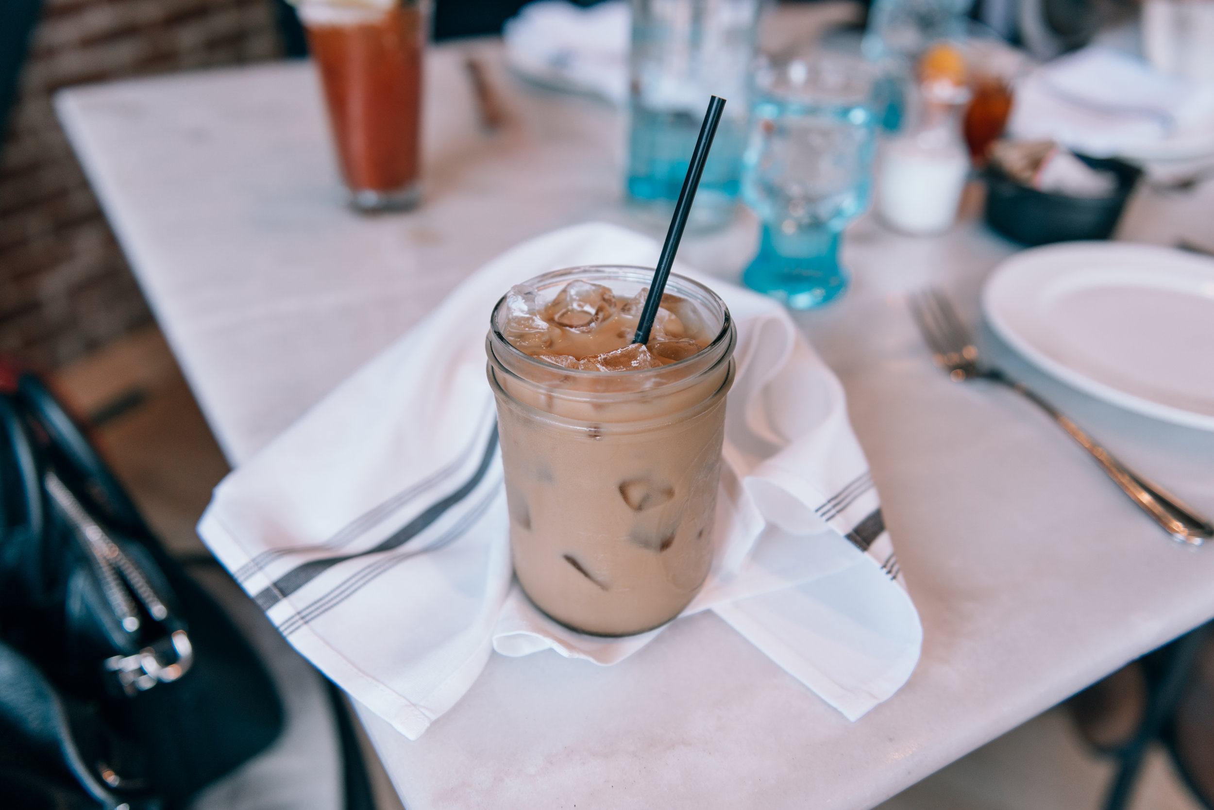 Iced Almond Milk Latte