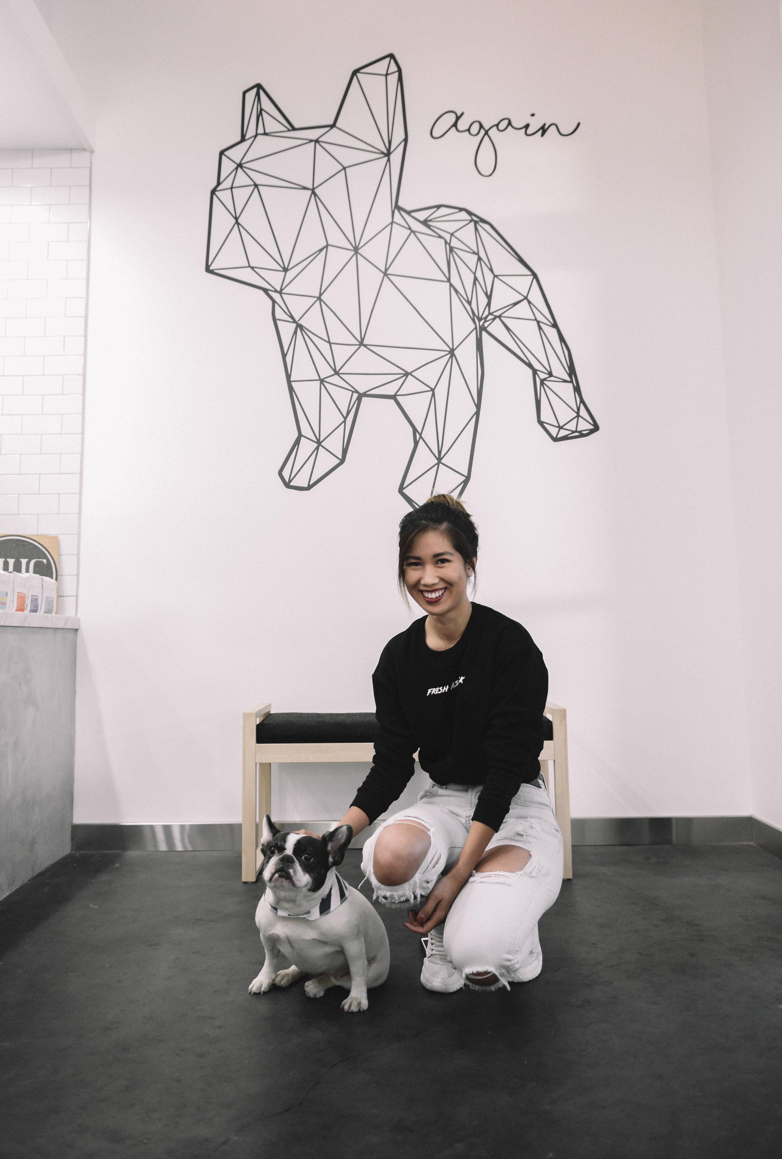 Again-Cafe-Pasadena-Dog