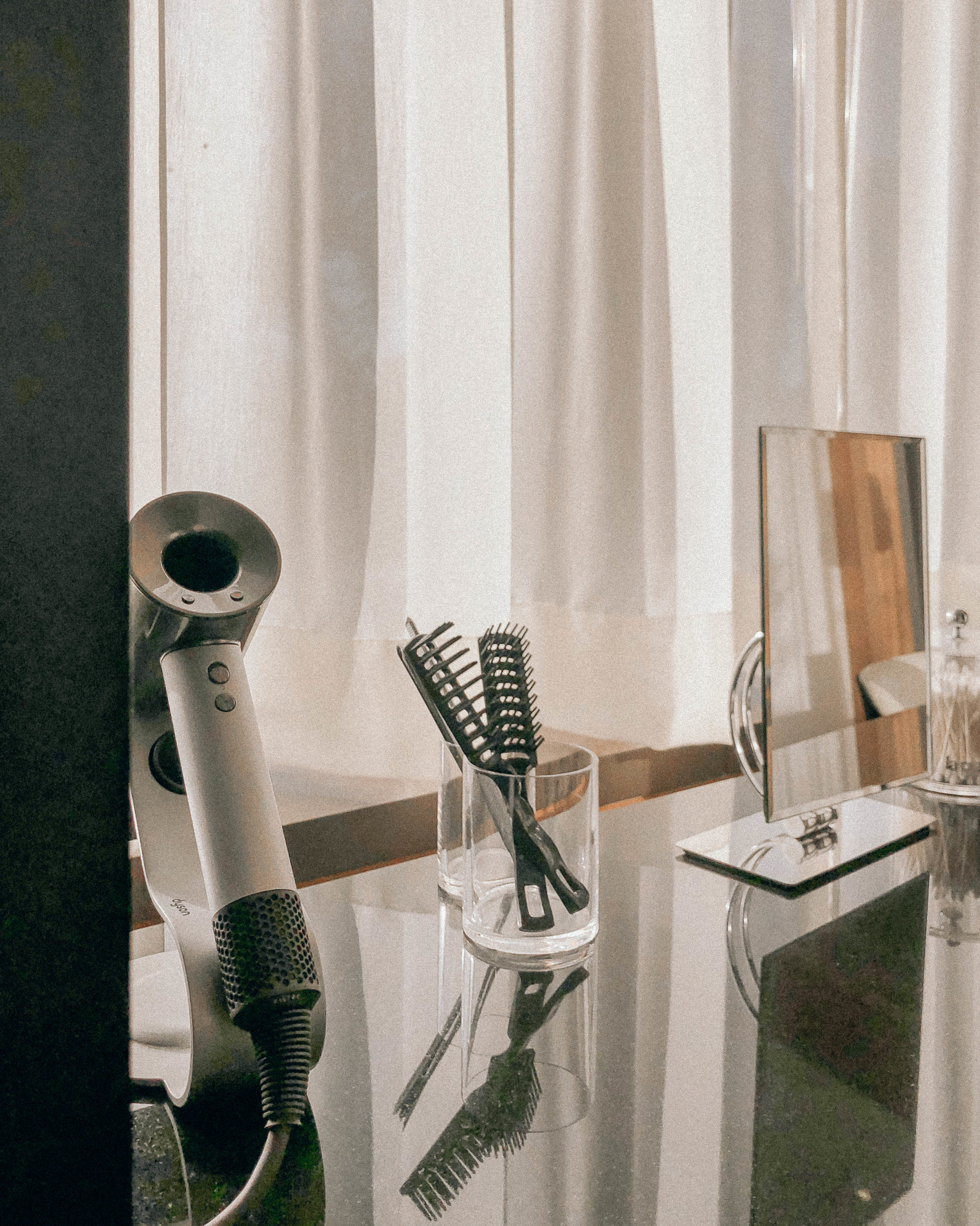 Dyson hairdryers are also available in each guest room.