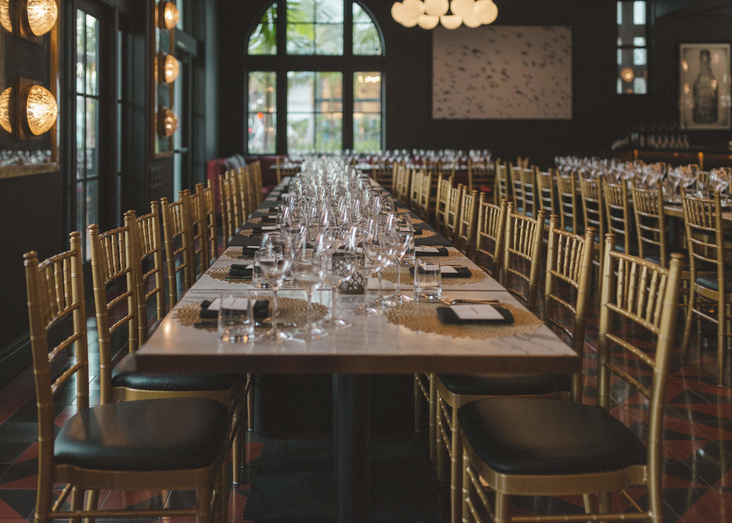 Guest Chef + Winemaker Dinner