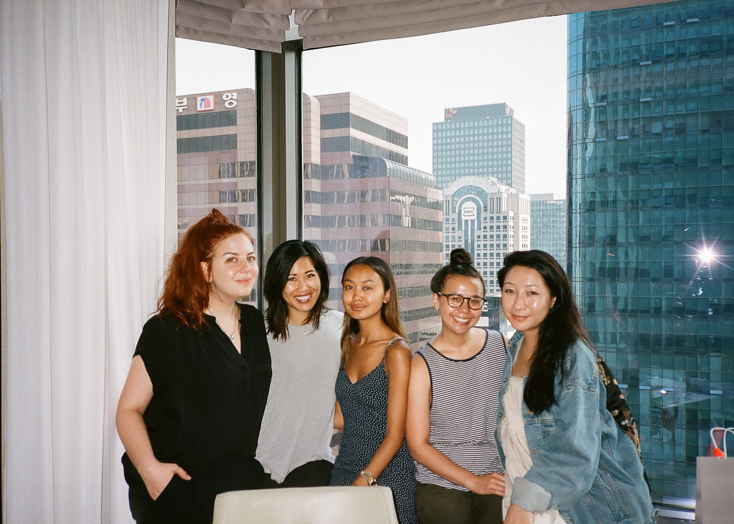 Crew love: Stevie, Me, Linh, Maria, Kunku