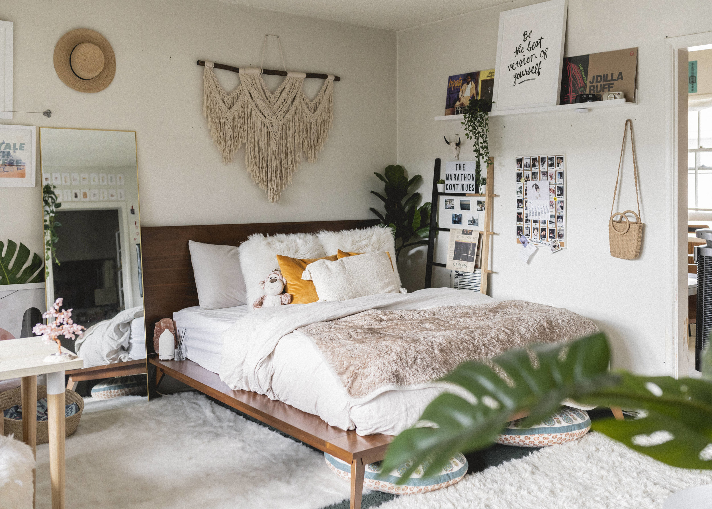 Boho Chic Bedroom Refresh By Lisa Linh