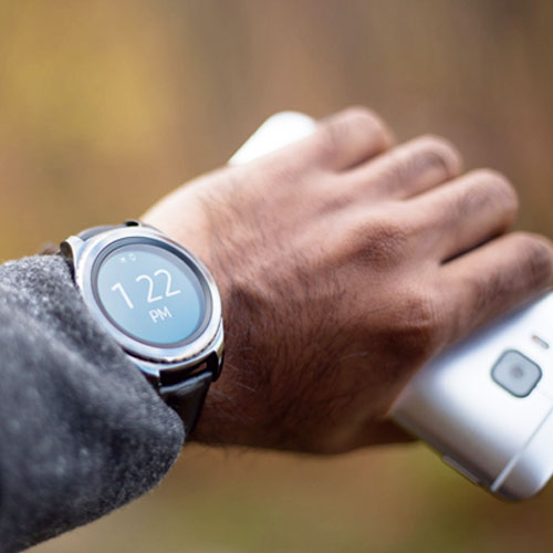 """Thinking of gifting a smartwatch but are worried the """"techy look"""" doesn't fit with his style? Brands like Fossil and Nixon have smartwatches that look more like a traditional wristwatch, so no more fretting over matching aesthetics."""