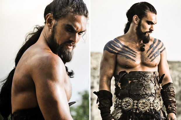 1.  Khal Drogo - Game of Thrones