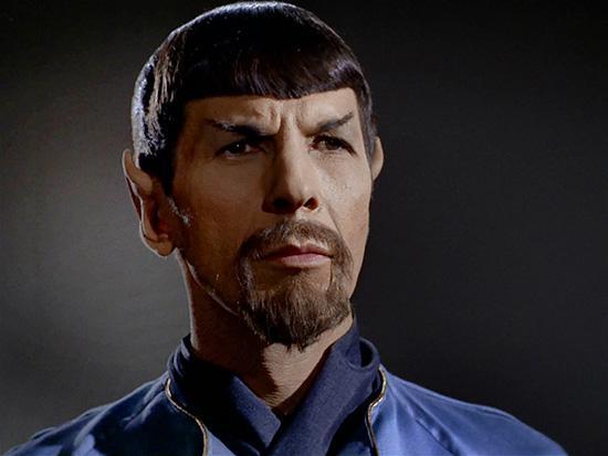 10.  Evil Spock - Star Trek
