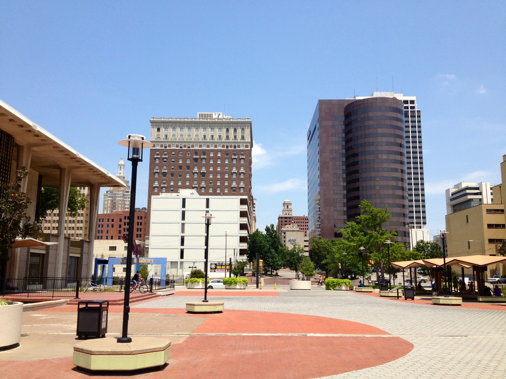 Downtown Tulsa, Oklahoma.