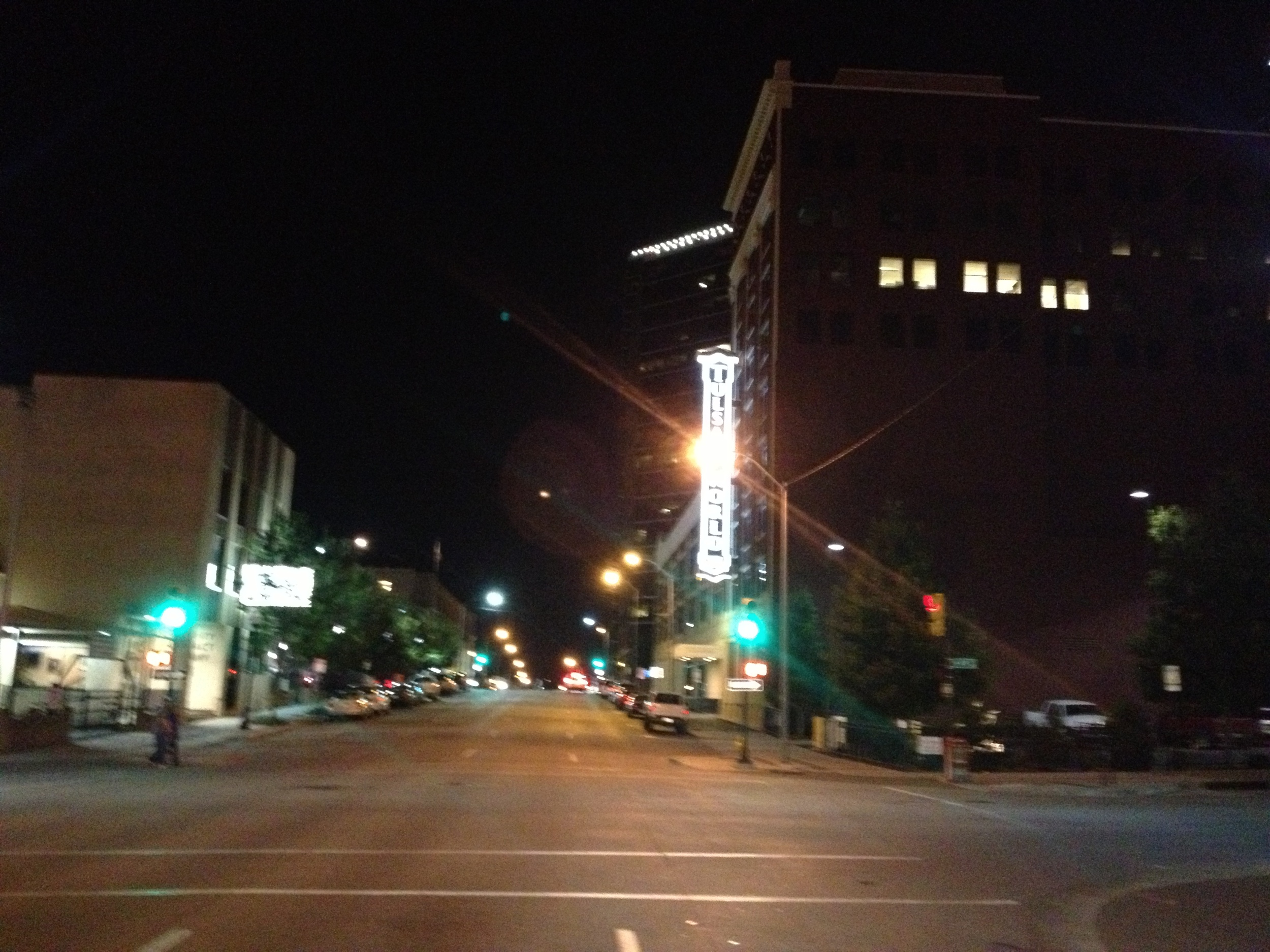 Tulsa World Sign