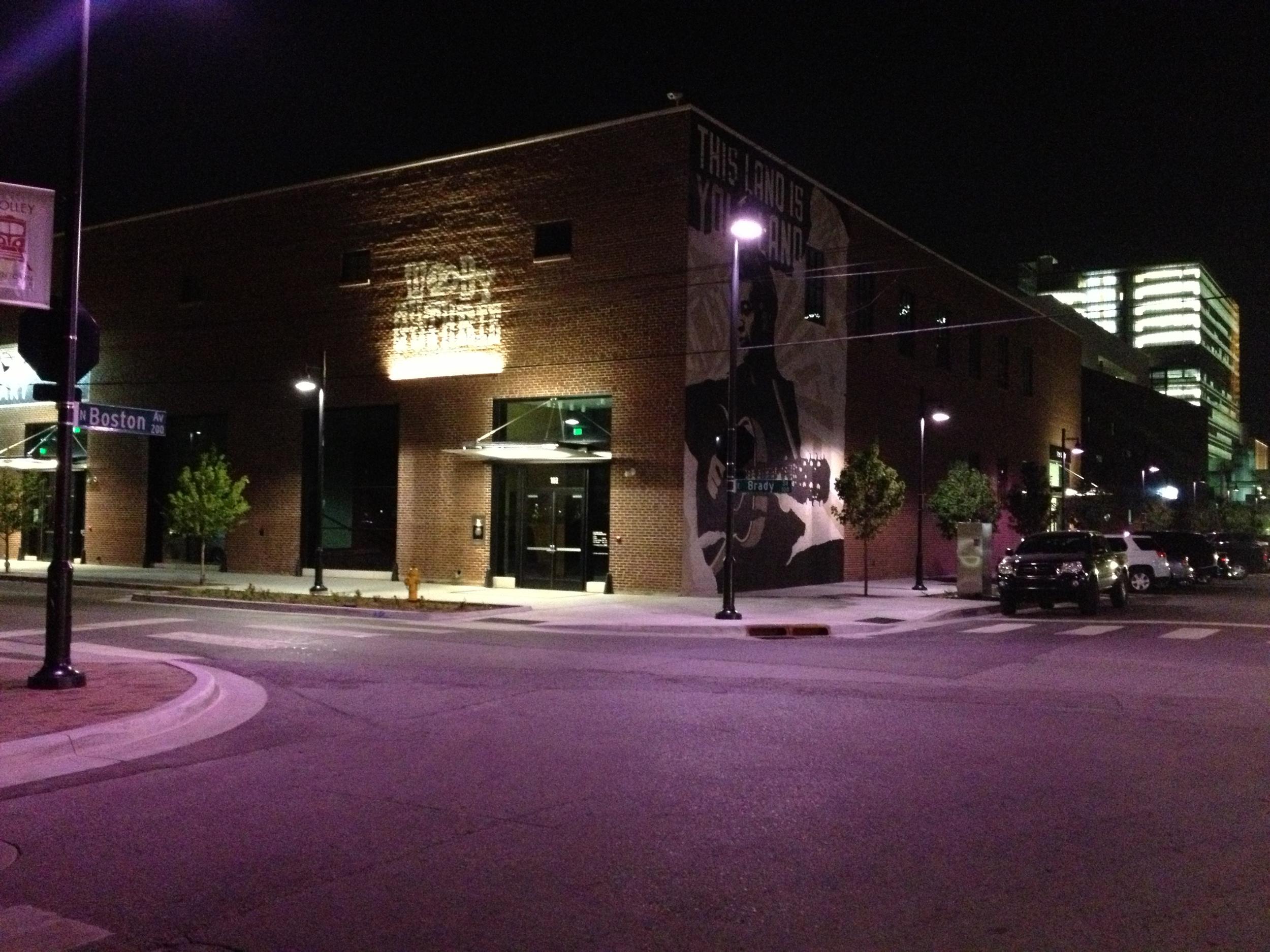 Woody tGutrhie Art in Downtown Tulsa