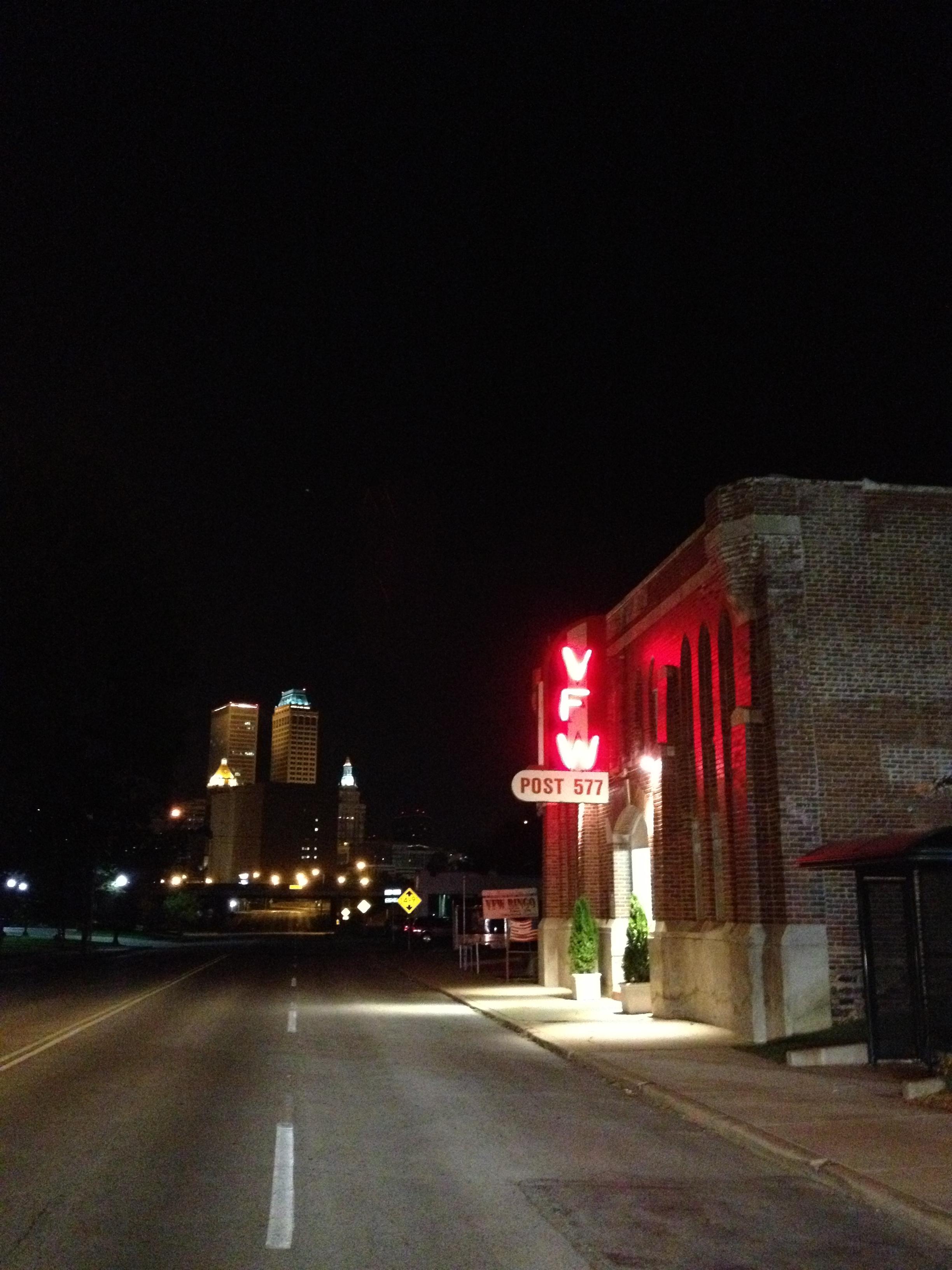 VFW and Downtown Tulsa