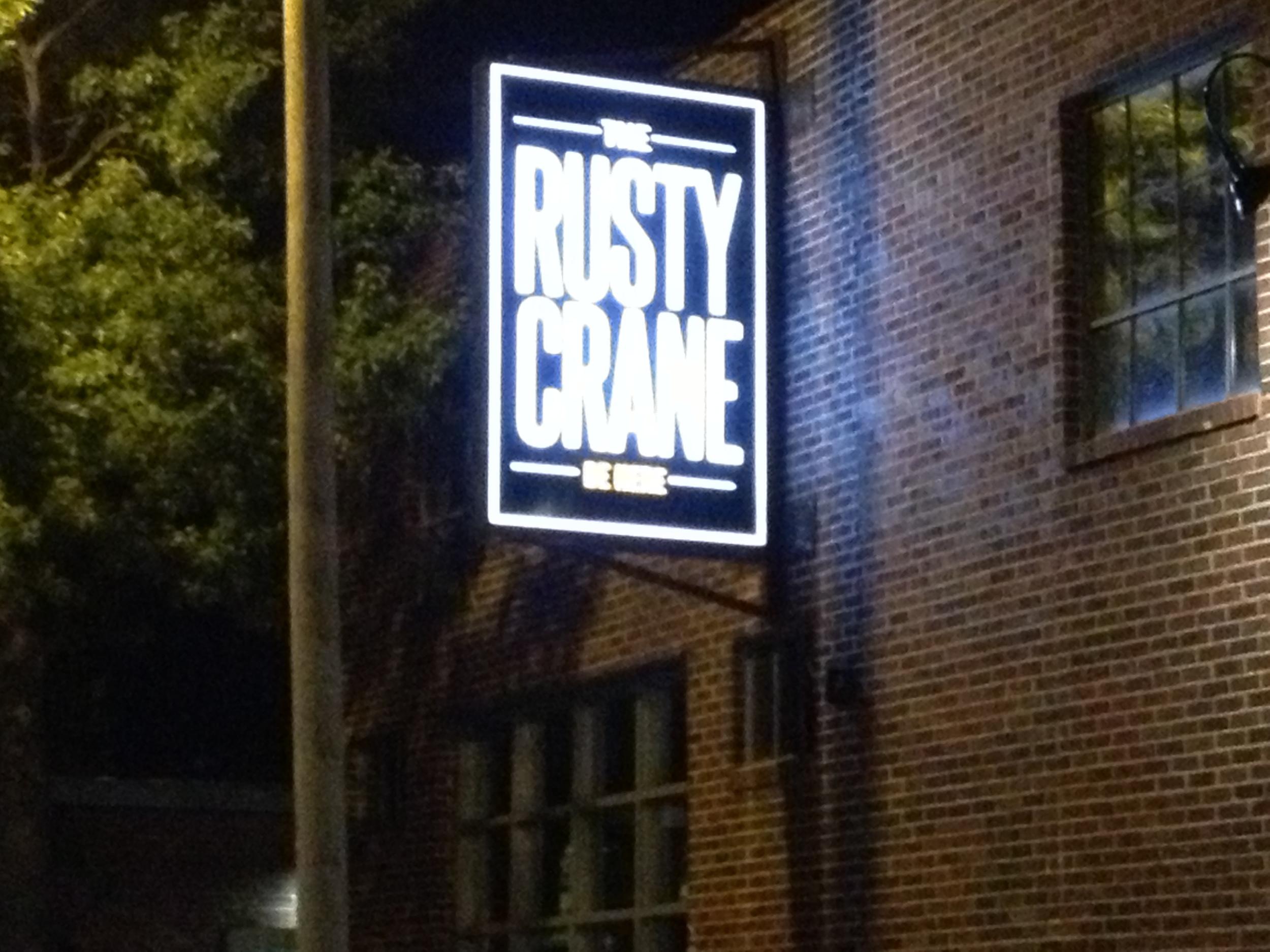 Rusty Crane in Downtown Tulsa