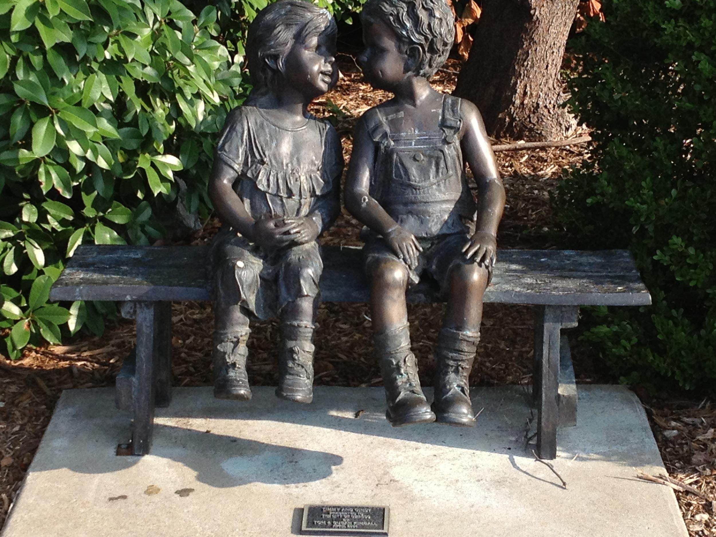 Sculptures by Owasso Jail