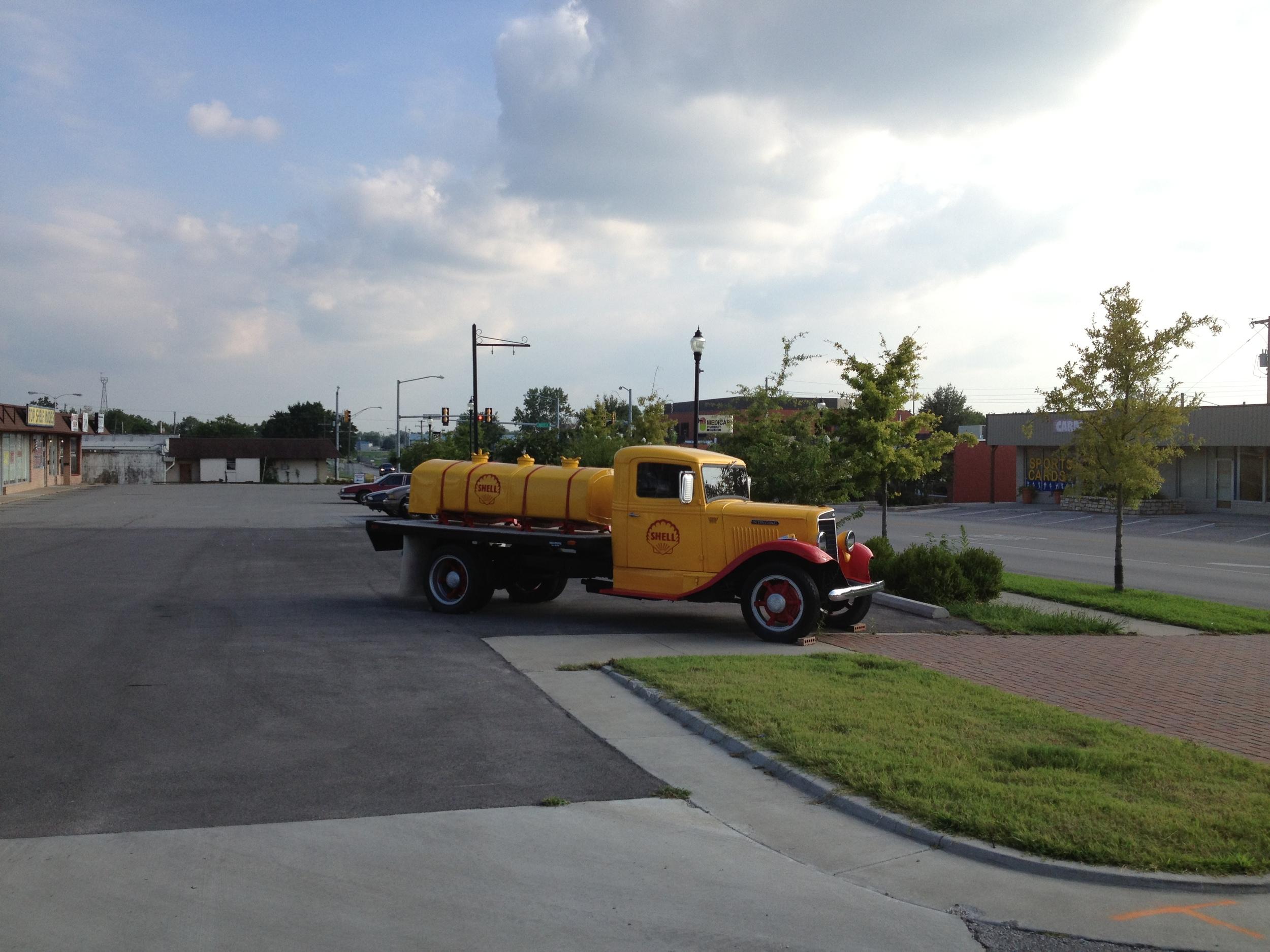 Owasso Truck on Main street Owasso