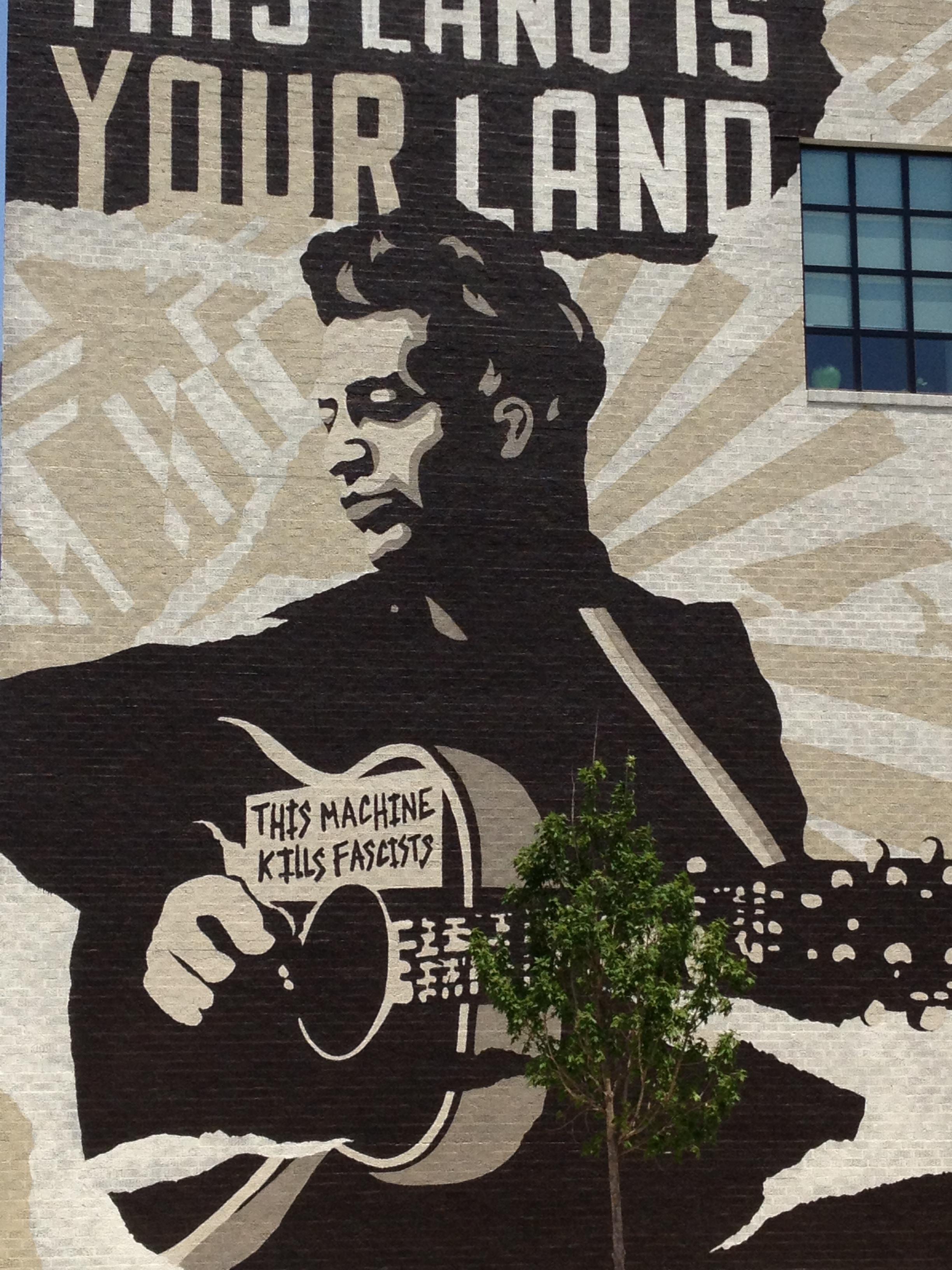 Woody Guthrie Center in Tulsa