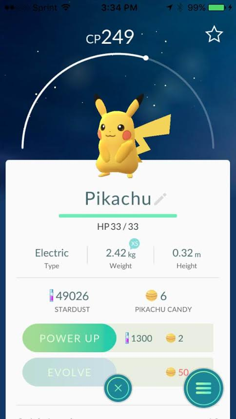 here he is one of the games rarest guys PIKACHU.  If you have not started the game yet you can grab him in the beginning of the game just look at this    video    on how to do so.  Photo by    Alameda Bail Bonda in Tulsa