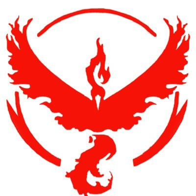 We Are in Team Valor.  There are 3 team you can chose  from    Team Valor   ,    Team Instinct   , and    Team Mystic