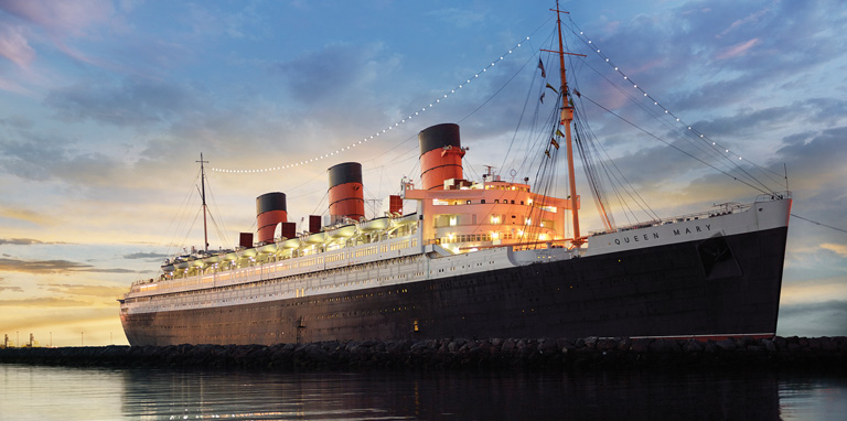 The Queen Mary - My Personal Experience Aboard The Queen Mary in Long Beach, CA